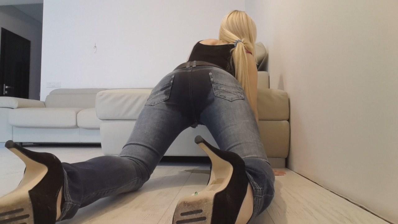 Blonde Mayoral Jeans Messy - Scatshop-5521