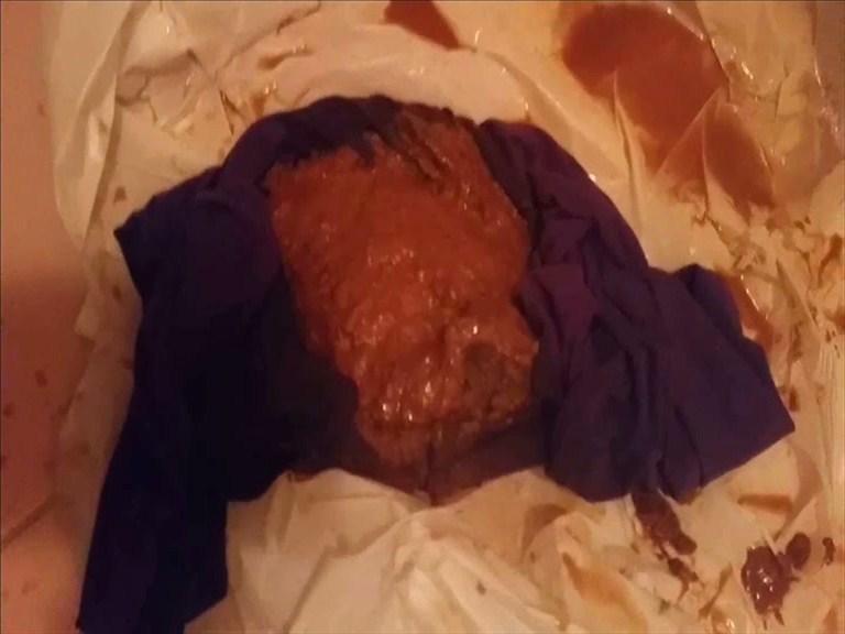 Pantyhose poop harmonious